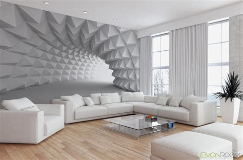 Stunning Wallpaper Designs For Living Room Wall 4