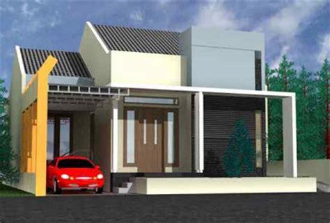 denah rumah minimalis  kamar type   lantai desain