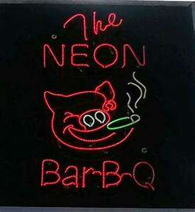 Time to eat Picture of The Neon Pig BBQ Baldwin