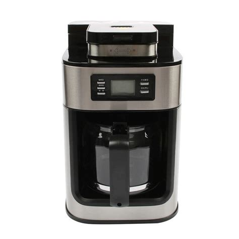 Coffee machines with grinders have a ton of moving parts. DMWD 1.2L Electric Coffee Machine American Coffee Maker Automatic Coffee Grinder With Pot For ...