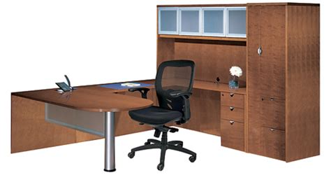 Office Desk Configurations by U Desk Configuration Macbride Office Furniture