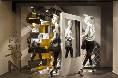 de bijenkorf eye  fashion window display  studioxag