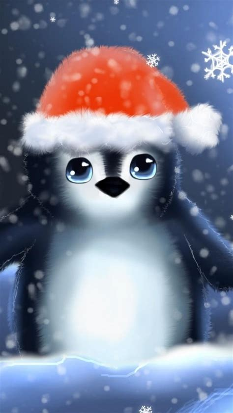 penguin christmas wallpaper gallery