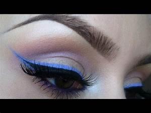 Bright eyeliner tutorial