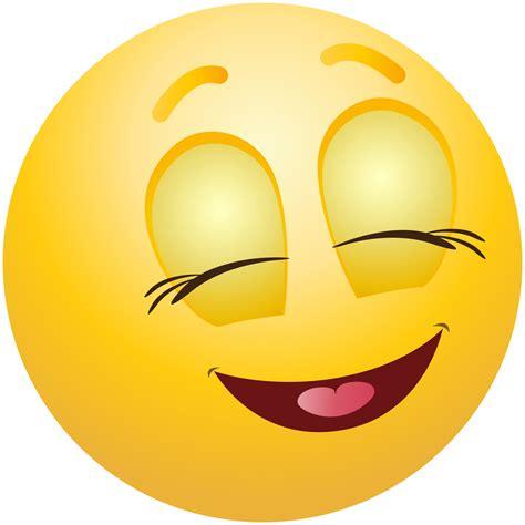 Clipart Smiley Pleased Emoticon Emoji Clipart Info
