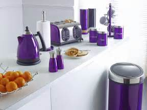 Purple Kitchen Stuff  I Wish I Could Have These In My