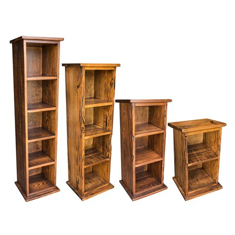Unfinished Furniture Bookcases, Unfinished Wood Cube