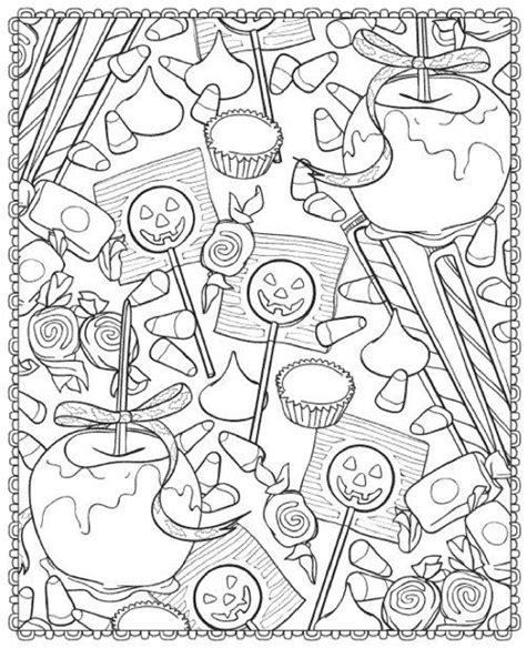 candy apples  lollipops printable halloween coloring candy coloring pages coloring books