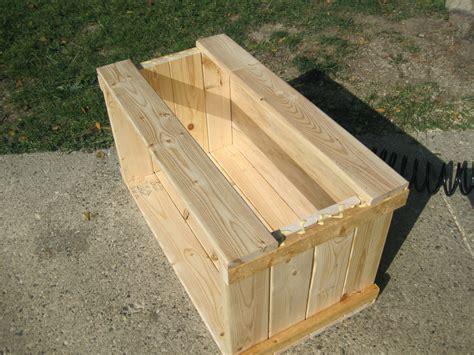 wooden wooden storage trunk plans  plans