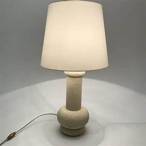 Lampe En Pierre : lampe en pierre circa 1970 80 paul bert serpette ~ Teatrodelosmanantiales.com Idées de Décoration