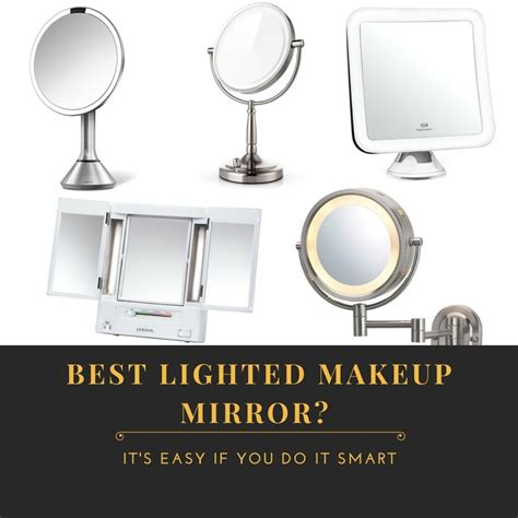 best lighted makeup mirror 5 best lighted makeup mirrors 2018 top picks and reviews