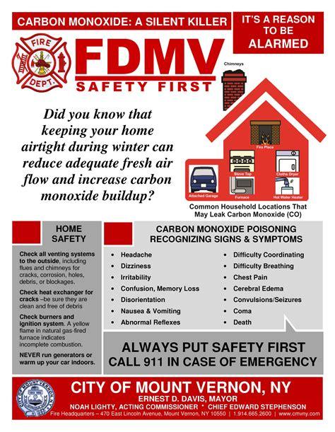 safety bureau carbon monoxide