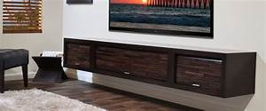 wall mounted floating tv stands woodwaves With wall mount tv stand never die