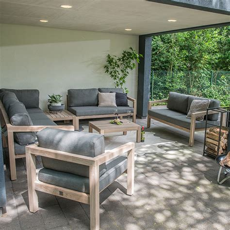 evora teak garden corner sofa   seasons outdoor