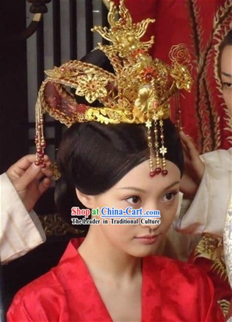 ancient chinese princess wedding phoenix crown
