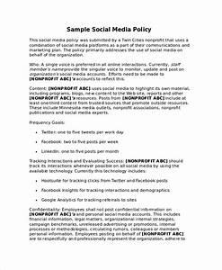 Social media policy template for schools image collections for Social media policy template for schools