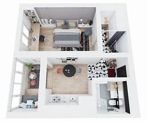 Einrichtung Für Kleine Räume : die besten 25 kleine wohnung einrichten ideen auf ~ Michelbontemps.com Haus und Dekorationen