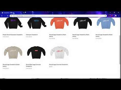 strucid merch youtube