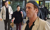 Damian Lewis cuts a casual figure as he and wife Helen ...