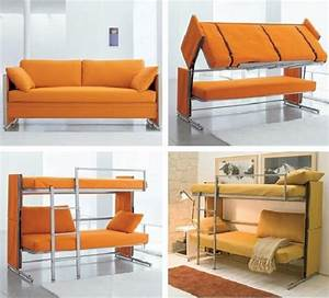 space saving designs from resource furniture With sofa bunk bed space saving furniture