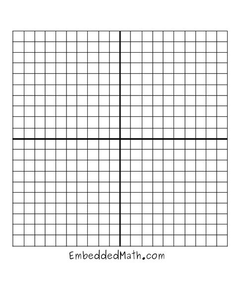 13 Best Images Of Blank Coordinate Grid Worksheets  Coordinate Grid Paper Printable, Graphing