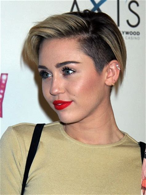 Short and Edgy?The Celebrity Undercut   Sophisticated