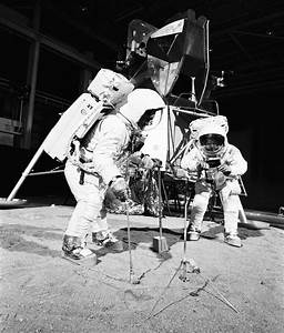 Real Apollo 11 Training Photos Look Like Prep For A Fake ...