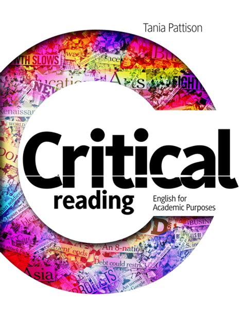 Critical Reading English For Academic Purpose, 1st, Pattison  Buy Online At Pearson