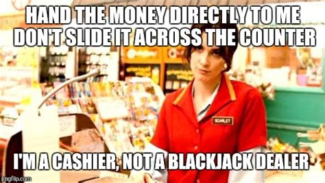 Cashier Memes - cashier meme imgflip