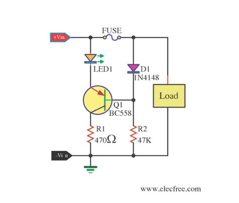 Blown Fuse Indicator Led Display Circuit Diagram World