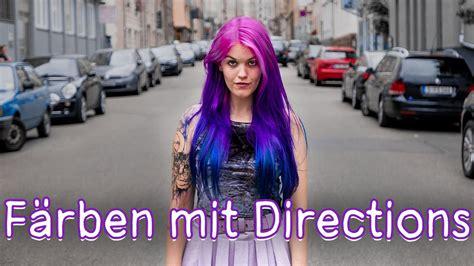 pinke haare färben haare pink lila blau ombre f 228 rben mit directions