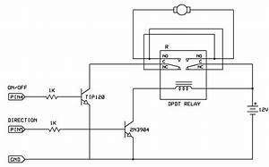 Remote  Rf Or Ir  Control Of Dc Motor