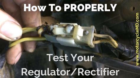 test  regulatorrectifier youtube