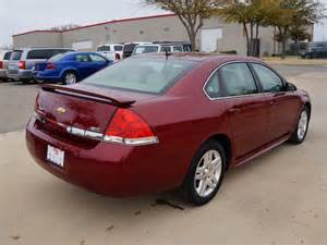2011 Chevy Impala LT Red