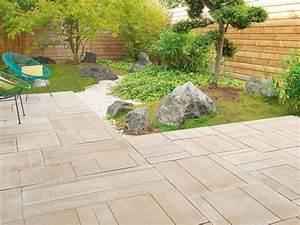 Carrelage Exterieur Imitation Bois Point P : terrasse 20 carrelages et dallages pour l 39 ext rieur ~ Dailycaller-alerts.com Idées de Décoration