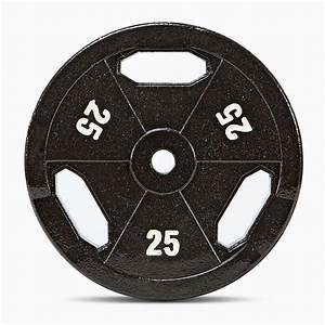 25 Lb  Eco Standard Size Grip Plate