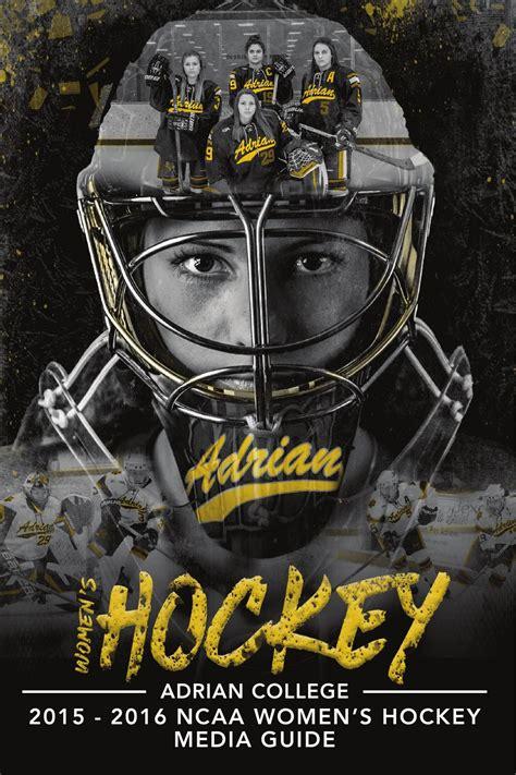adrian college womens hockey guide  adrian