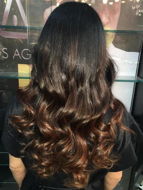 Black Chocolate Brown Hair by 40 Ideas For Black Ombre Hair