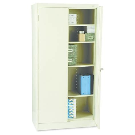 Target Storage Cabinets by Tennsco 72 Quot High Standard Cabinet 36w X 18d X 72h Putty