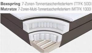Matratze 70 X 200 : boxspringbett amondo 180 x 200 cm leder optik wei 7 zonen tonnentaschenfederkern matratze ~ Watch28wear.com Haus und Dekorationen