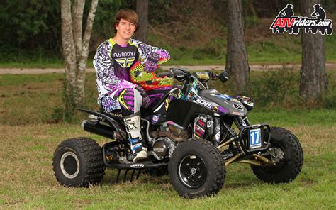 atv motocross ama pro atv motocross racer jon venjohn honda 450r atv
