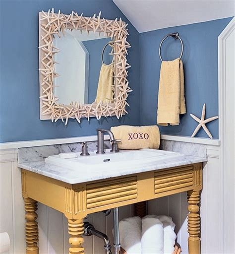 coastal bathroom ideas ez decorating know how bathroom designs the nautical beach decor