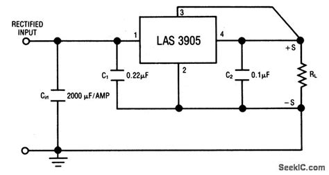 Positive Fixed Voltage Regulator With Remote Sensing