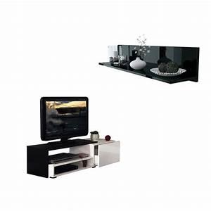 Casa Meuble Tv : pack etag re murale skadu meuble tv casa meubles et d coration tunisie ~ Teatrodelosmanantiales.com Idées de Décoration