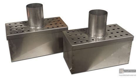 Metal dryer vent buckets with lint trap   Stainless Steel