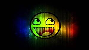 Rainbow Smiley Face Wallpaper 2 - YouTube