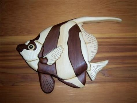 angel fish scroll  woodworking crafts photo gallery