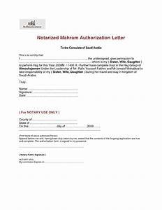 Best photos of notarized authorization letter format for Notarized letter of authorization template