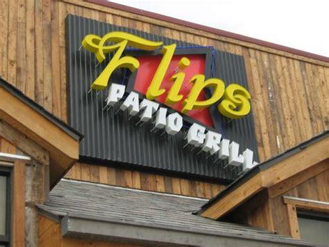 flips patio grill dallas sign company in dallas tx custom signs by hancock signs