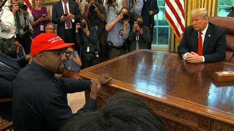 Kanye West Tells Trump Maga Hat Made Him Feel Like 'superman